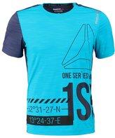 Reebok Print Tshirt Wild Blue