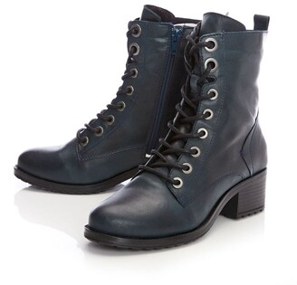 Moda In Pelle Bezzie Teal Leather