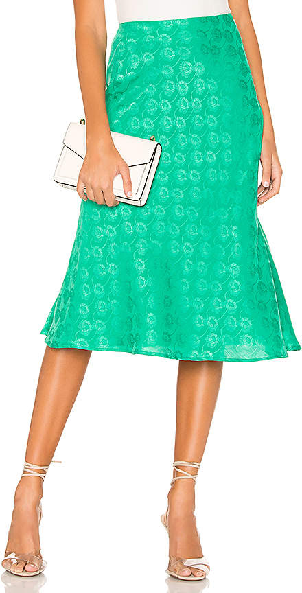 4d399bc11a Green Midi Skirts For Women - ShopStyle
