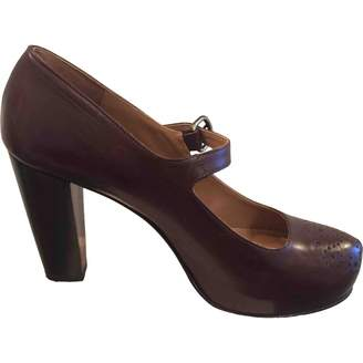 Fratelli Rossetti Brown Leather Heels