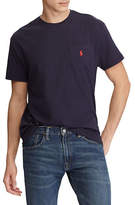 Polo Ralph Lauren Big and Tall Short-Sleeved Pocket Crewneck T-Shirt