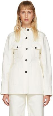 LVIR Off-White Cotton Stitch Jacket