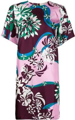 Emilio Pucci floral print shift dress