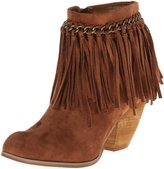 Not Rated Womens Mohegan Fringe Booties
