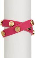 Trina Turk Snap Stud Double Wrap Bracelet