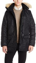 Spiewak Men's Waxed N3-B Snorkel Parka with Fur Trimmed Hood