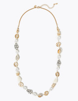 Marks and Spencer Multi Shell Long Necklace