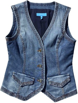 Escada Blue Denim - Jeans Top for Women