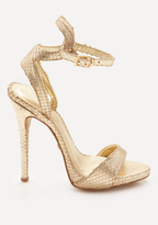 Bebe Jilliana Ankle Wrap Sandals