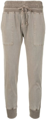 James Perse Fitted Jersey Trousers