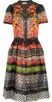 Temperley London Hestia Silk-Organza Dress