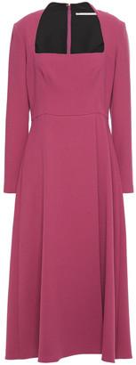 Emilia Wickstead Glenda Wool-crepe Midi Dress