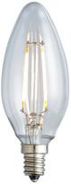 Archipelago Lighting Nostalgic Candelabra Filament LED Lightbulb, E12, 2400k, 2.0w/25w
