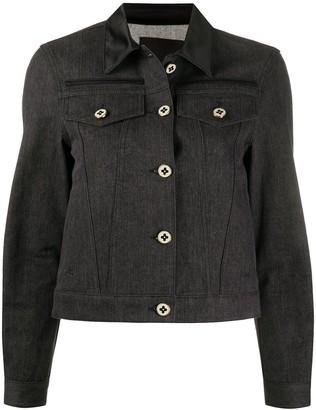 Ports 1961 Silk Collar Denim Jacket