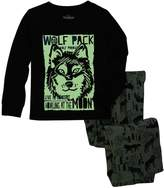 Osh Kosh Boys 4-14 Wolf 2-Piece Pajama Set