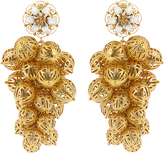 Dolce & Gabbana Daisy clustered earrings