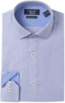 Original Penguin Printed Heritage Slim Fit Dress Shirt