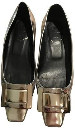 Roger Vivier Belle Vivier Gold Patent leather Ballet flats