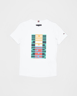 Tommy Hilfiger Fun Flag SS Tee - Teens