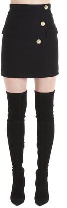 Balmain Wrap Mini Skirt