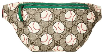Gucci Kids Belt Bag 502095HZMAN (Little Kids/Big Kids) (Beige/Ebony/VRV) Handbags