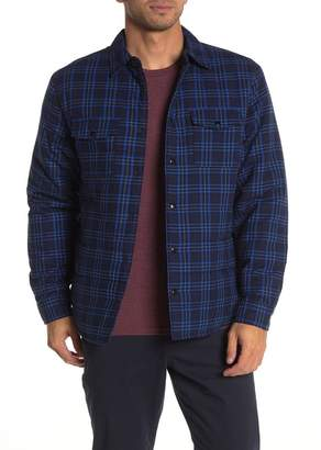 Slate & Stone Plaid Print Shirt Jacket
