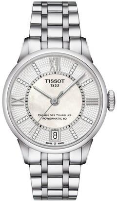 Tissot Chemin Des Tourelles Powermatic 80 Ladies Watch T099.207.11.116.00