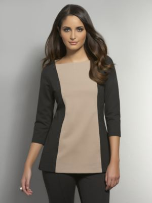 New York & Co. The CityKnit Collection - Colorblock Tunic