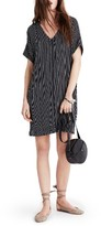 Madewell Women's Novel Chalkboard Stripe Dress