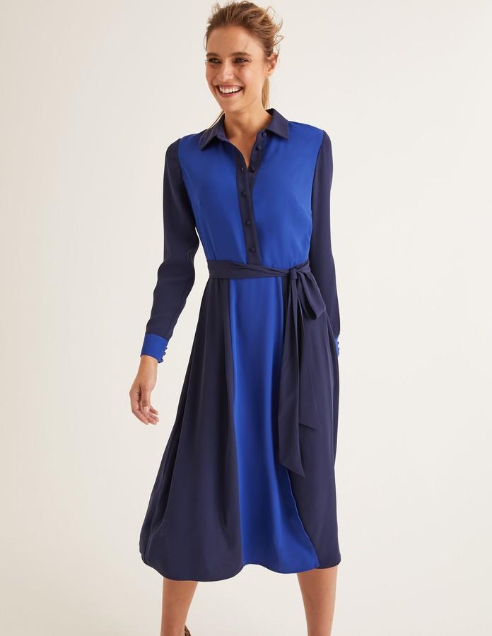 Boden Betty Midi Shirt Dress