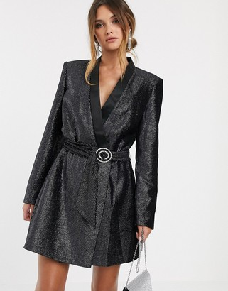 Bronx And Banco & Banco belle blazer dress dress-Black