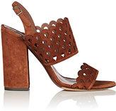 Tabitha Simmons Women's Ilma Laser-Cut Suede Sandals