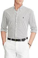 Polo Ralph Lauren Big & Tall Striped Poplin Long-Sleeve Woven Shirt