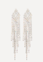 Bebe Diamond Pattern Earrings