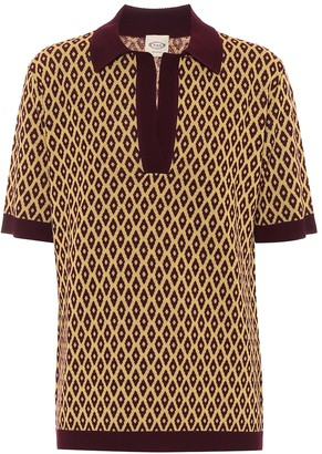 Tod's Intarsia virgin-wool sweater