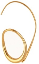 Charlotte Chesnais Caracol gold-plated earring
