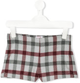 Il Gufo checked shorts - kids - Polyester/Spandex/Elastane/Viscose - 2 yrs