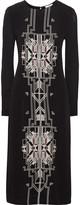 DAY Birger et Mikkelsen Embroidered crepe dress