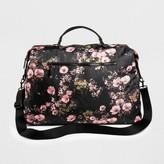 Mossimo Women's Floral Nylon Weekender Handbag