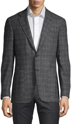 Canali Textured Wool-Blend Sportcoat