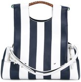 Corto Moltedo 'Priscilla New' striped shoulder bag