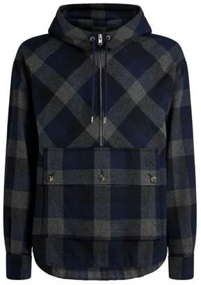 Kenzo Check Anorak Jacket