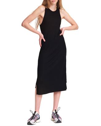 Rag & Bone The Knit Rib Zip Midi Dress