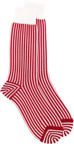 Haider Ackermann striped socks - men - Silk/Viscose - II
