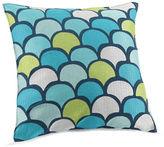 Trina Turk Kimono Decorative Abstract Waterwaves Throw Pillow