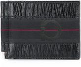 Salvatore Ferragamo textured logo wallet - men - Calf Leather - One Size