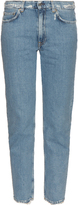 Acne Studios Boy distressed low-slung straight-leg jeans
