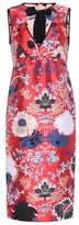 Rochas Floral jacquard minidress