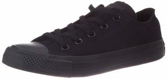 Converse Ctas Unisex Adults Low-Top Sneakers - Black (Black Mono) - 8 UK (41.5 EU)
