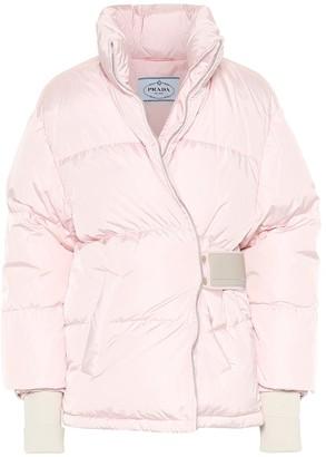 Prada Down nylon gabardine jacket